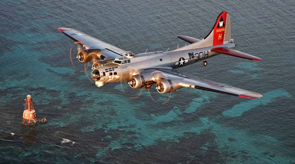 B-17G Aluminum Overcast