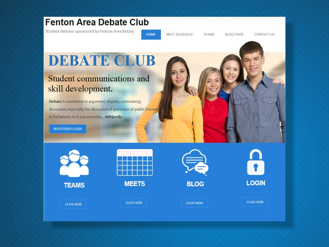 Debate Club Fenton 2015