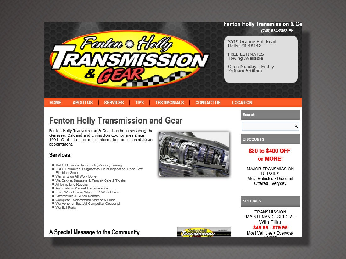 Fenton Holly Transmission