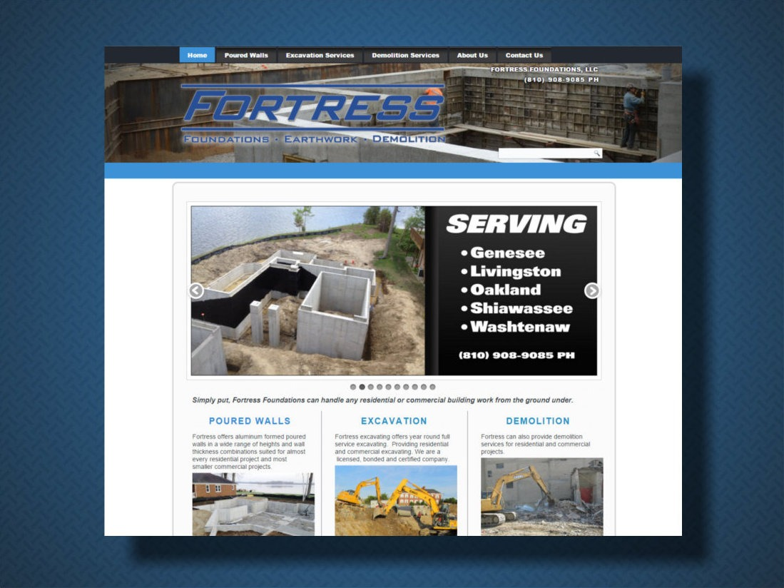Fortress Foundation and Poured Walls