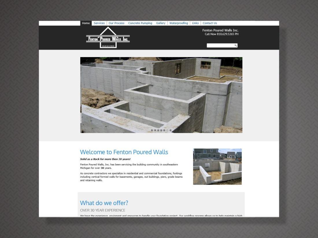 Fenton Poured Walls