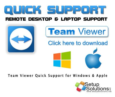 Quick Support TeamViewer from Setup Solutions LLC