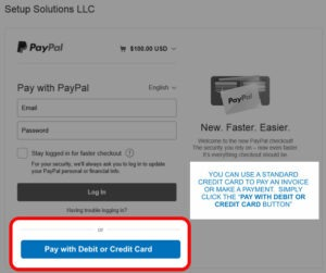 PayPal payment process Step 3