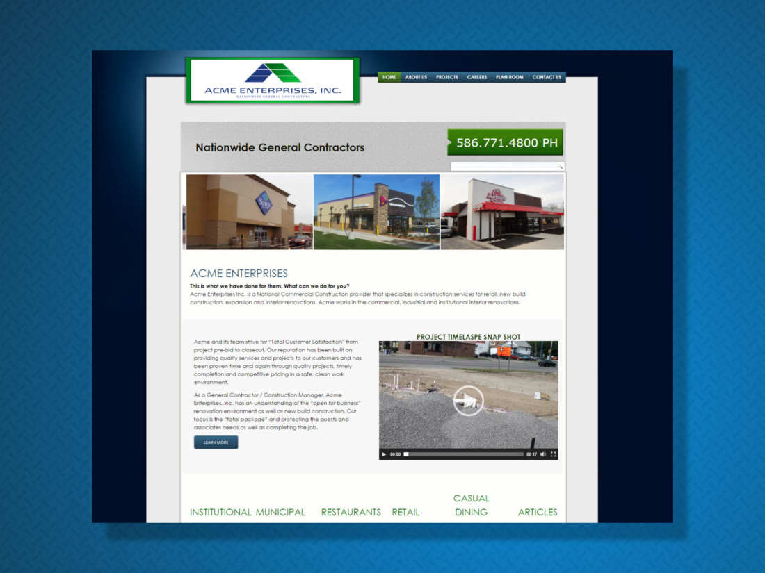 Acme Enterprises General Contractors Mi