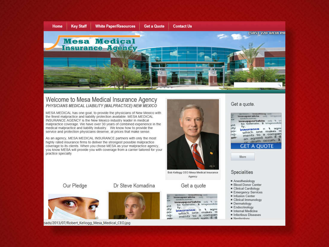Mesa_Medical_Malpractice_Insurance_New_Mexico
