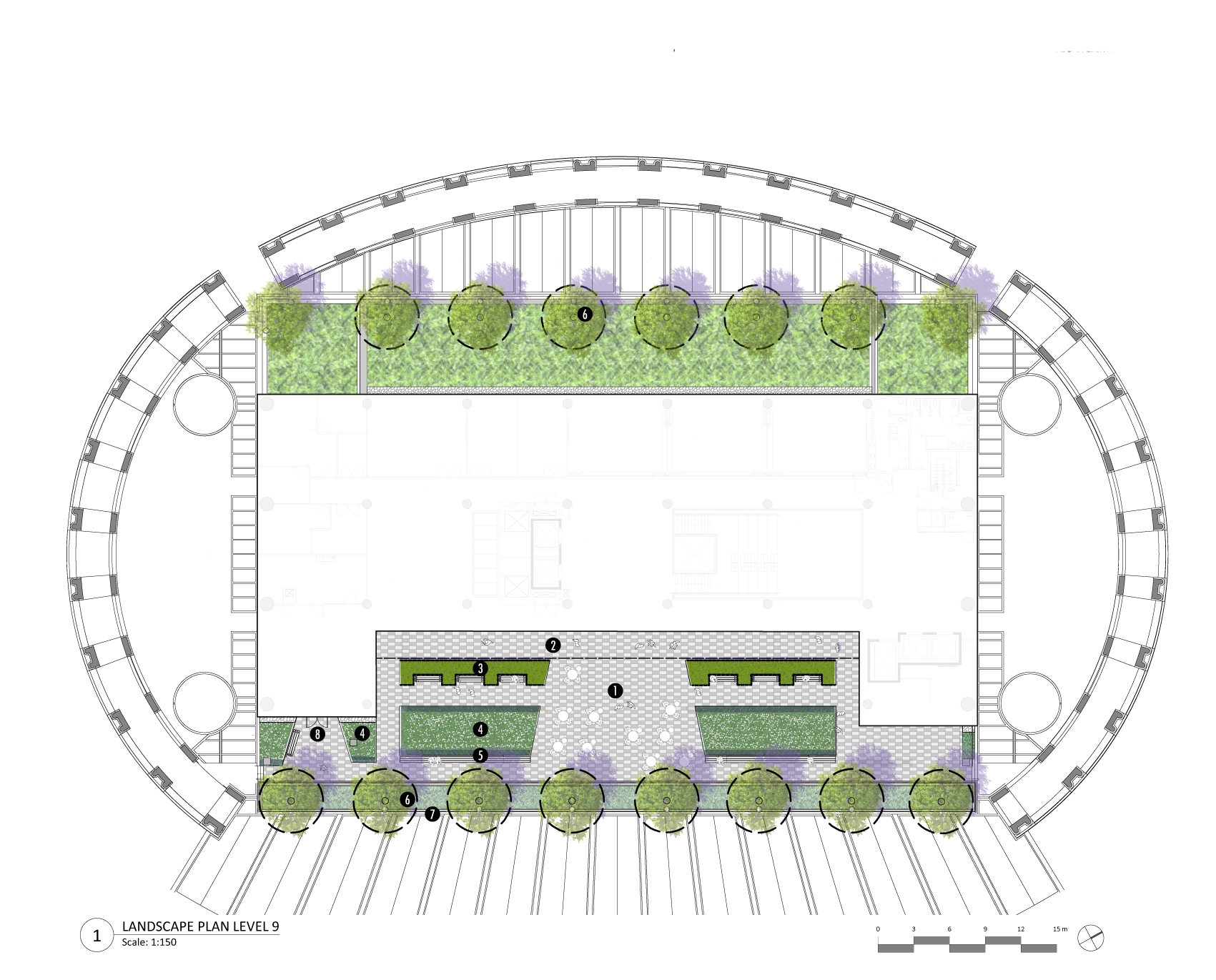 06-465 18-08-31 Library Square Roof Plan