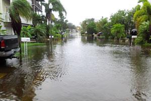 flooding in redington shores