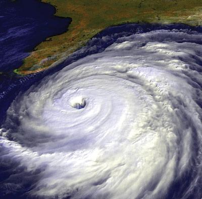 hurricane photo approaching florida