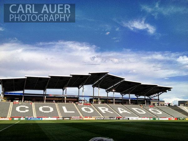 Dick's Sporting Goods Stadium in Commerce City, CO, just outside Denver