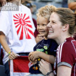 Missy Franklin and Colorado Olympians Honored At Rapids Game