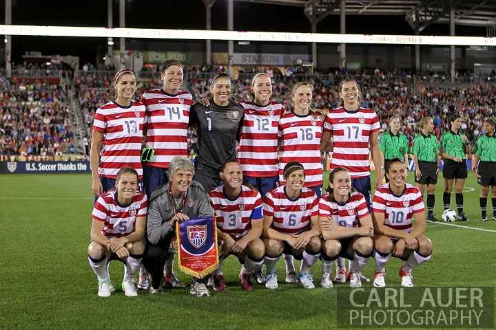 Soccer 2012: Australia vs USA SEP 19