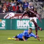 2012 MLS - Earthquakes visit the 5280 frozen pitch