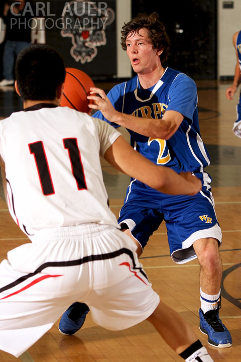 December 14, 2012: Wheat Ridge Farmer senior Noah Brookman (2) passes the ball in the game against the Pomona Panthers on Friday night at Pomona High School.