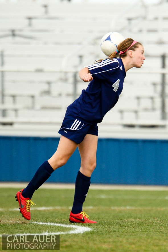April 12, 2013: The Standley Lake Gators girls soccer team won Friday's home conference game against Columbine by a score of 3-0.