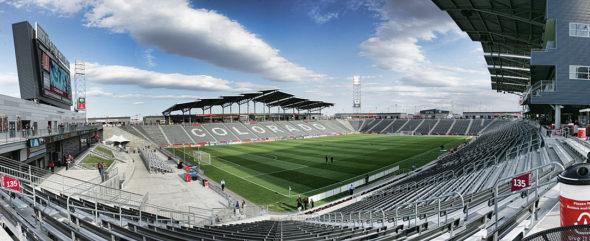 MLS 2013 - Toronto at Colorado - May 4
