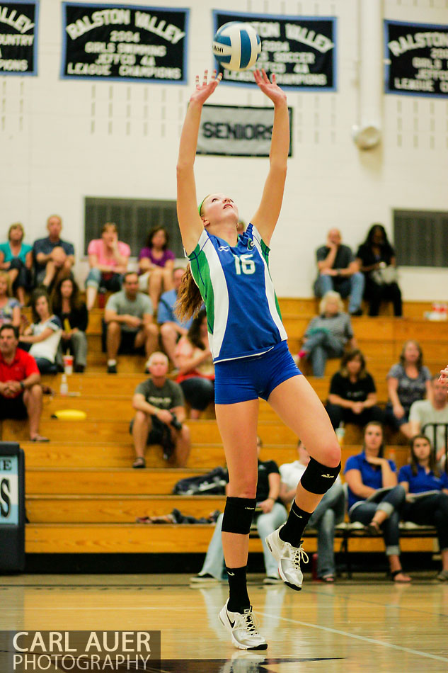 10 Shot - HS Volleyball - Doherty at RV