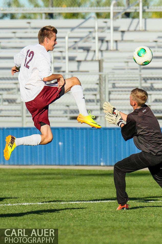 10 Shot - HS Soccer - Alameda International at Golden