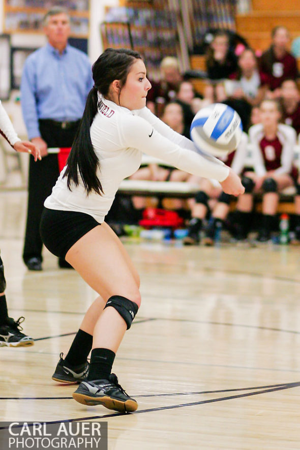 10 Shot - HS Volleyball - Chatfield at Ralston Valley
