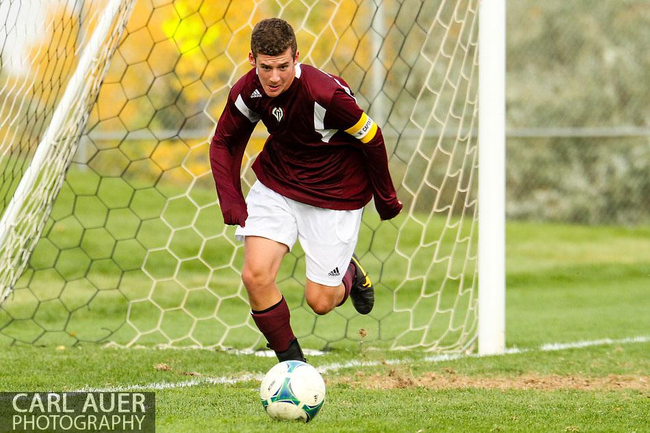 10 Shot - HS Soccer - Golden at Evergreen