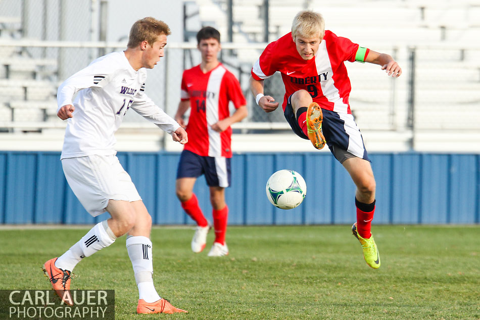 10 Shot - HS Soccer - Liberty at Arvada West