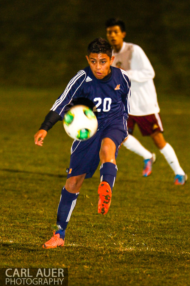 10 Shot - HS Soccer - Mitchell at Golden