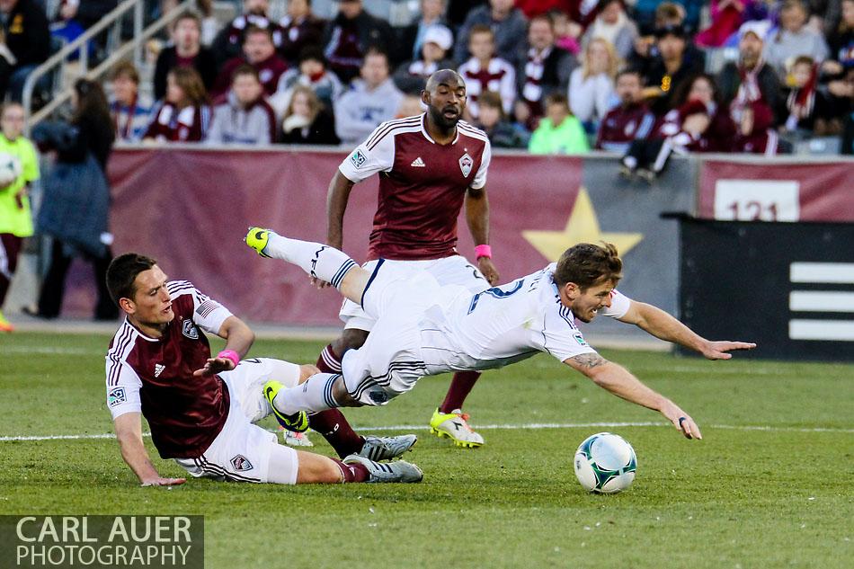MLS Soccer - Vancouver at Colorado
