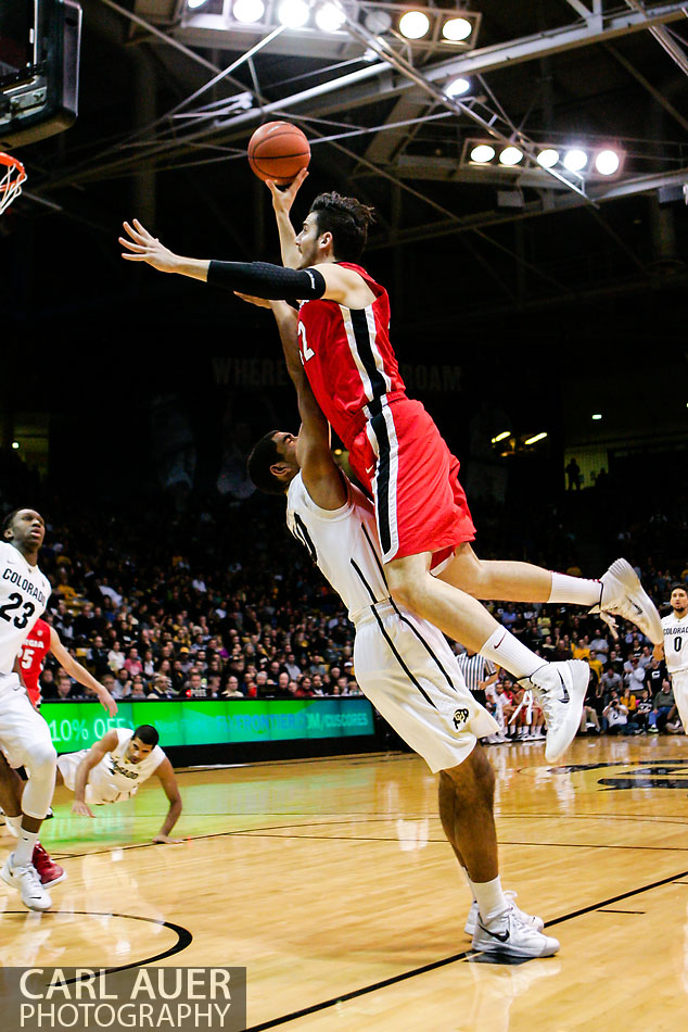 10 Shot - NCAA Basketball - Georgia at Colorado