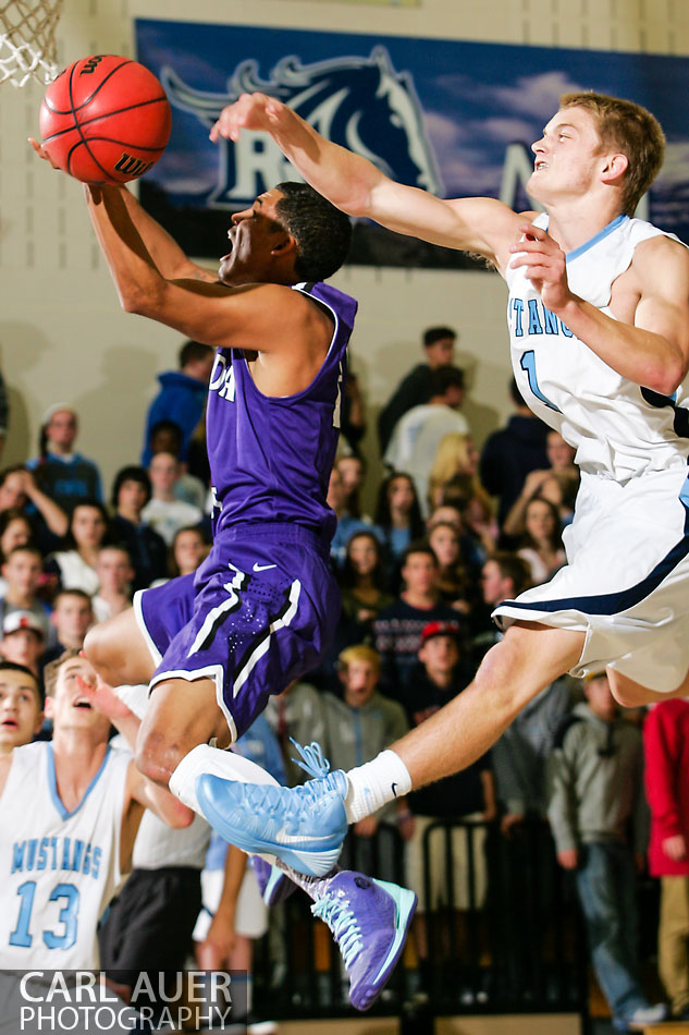 10 Shot - HS Basketball - Arvada West at Ralston Valley