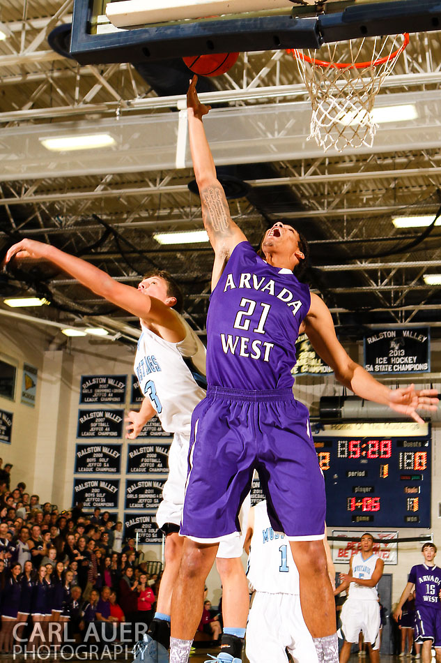 10 Shot - HS Basketball - Arvada West at RV