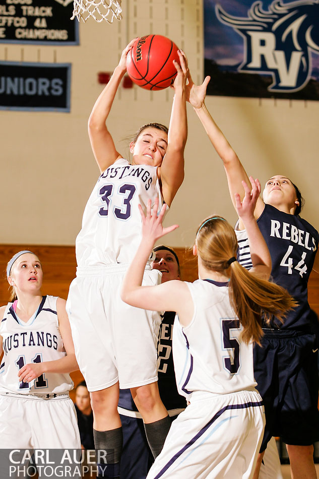 10 Shot - HS Girls Basketball - Columbine at RV