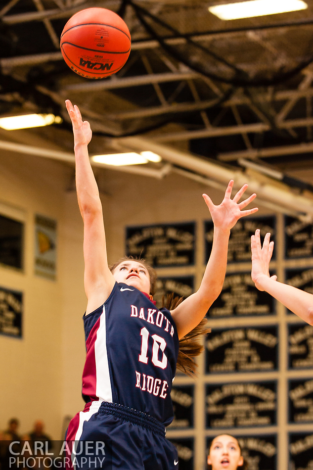 10 Shot - HS Girls Basketball - Dakota Ridge at RV