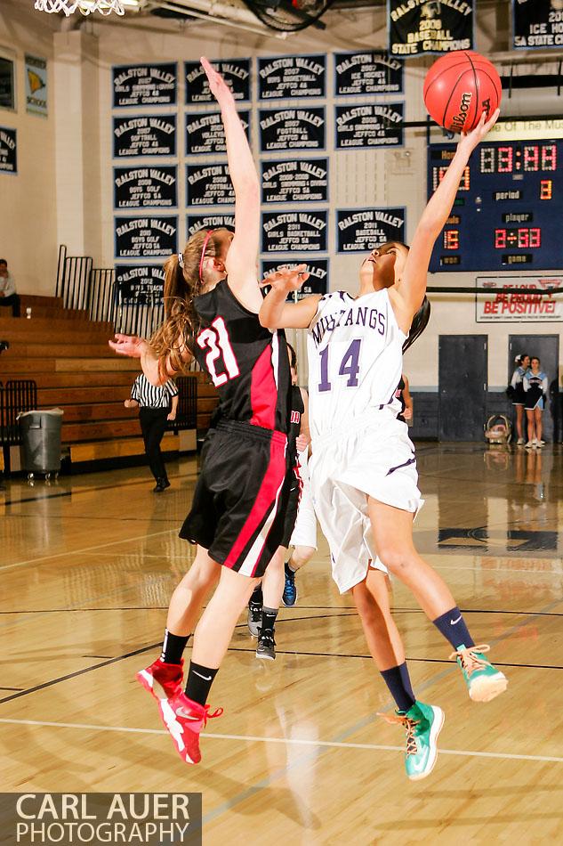 10 Shot - HS Girls Basketball - Pomona at Ralston Valley