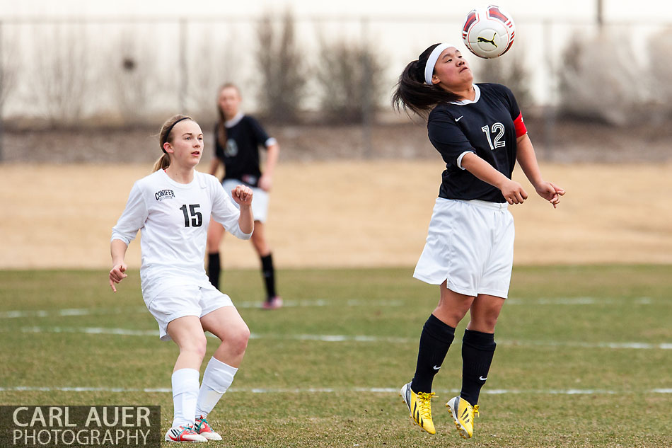 10 Shot - HS Girls Soccer - Pomona at Conifer