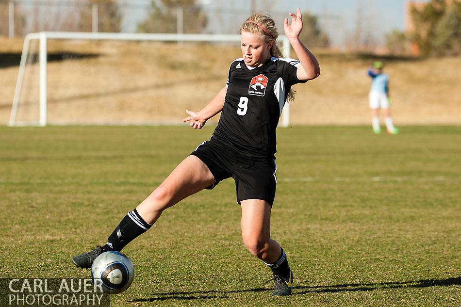 10 Shot - HS Girls Soccer - Eaglecrest at Pomona