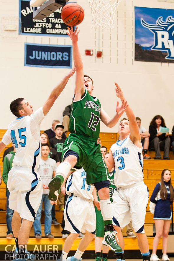 10 Shot - HS Basketball - Pine Creek at RV