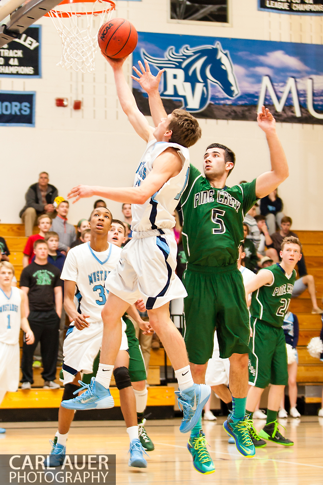 10 Shot - HS Basketball - Pine Creek at RV