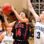 10 Shot - HS Girls Basketball - Eaglecrest at RV
