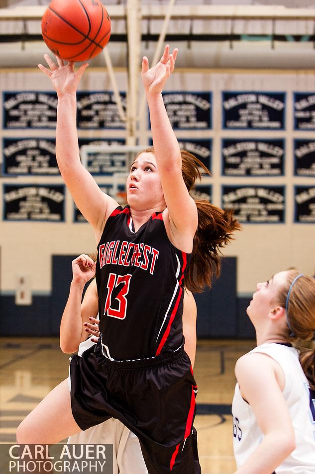 10 Shot - HS Girls Basketball - Eaglecrest at RV