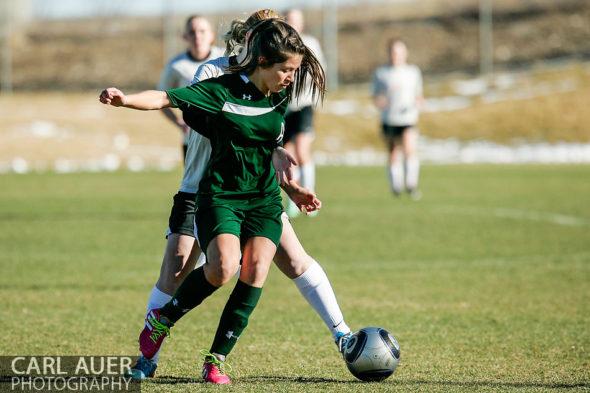 10 Shot - HS Girls Soccer - Aurora Central at Pomona