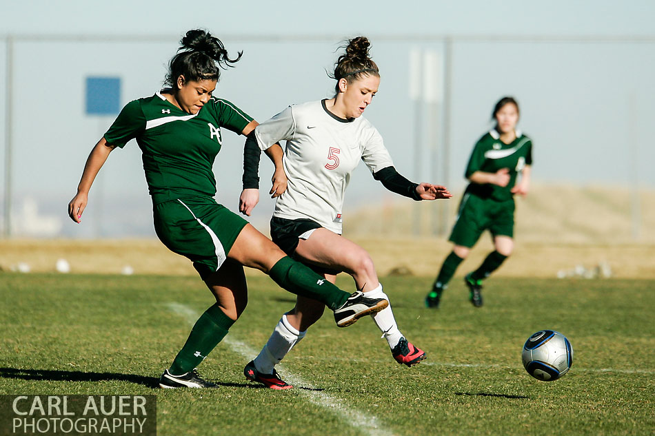 10 Shot - HS Girls Soccer - Aurora Central at Pomona