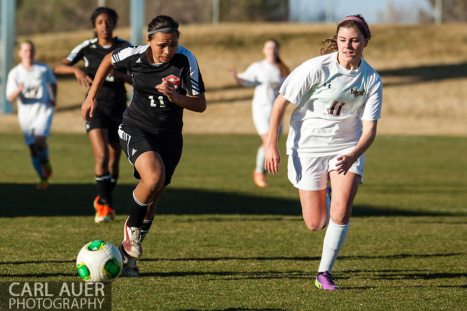 10 Shot - HS Girls Soccer - Eaglecrest at Golden