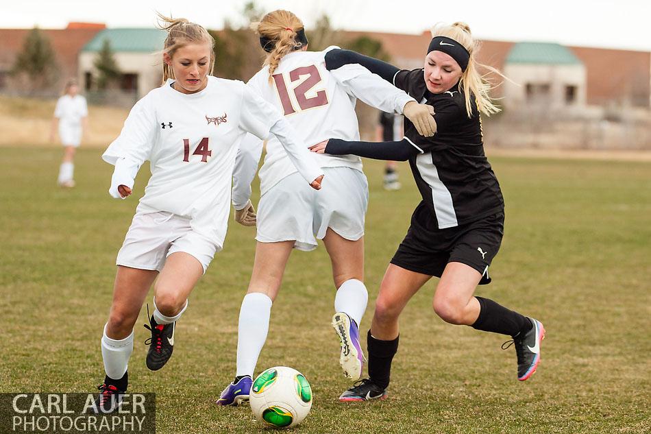 10 Shot - HS Girls Soccer - Thompson Valley at Golden