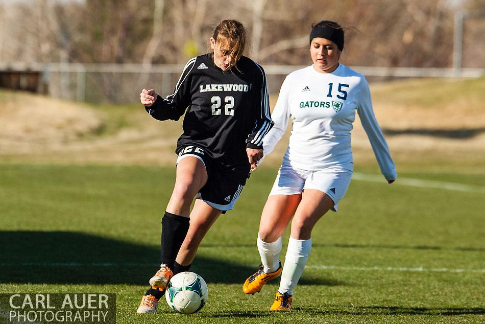 Standley Lake Girls Soccer vs Lakewood - 10 Shot