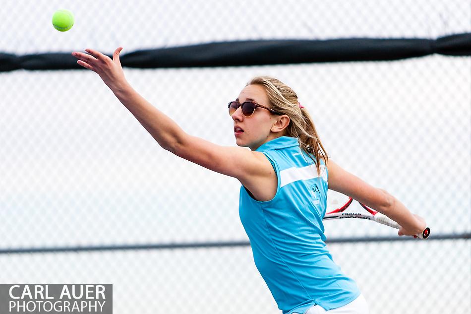 Ralston Valley Girls Tennis vs Horizon - 10 Shot