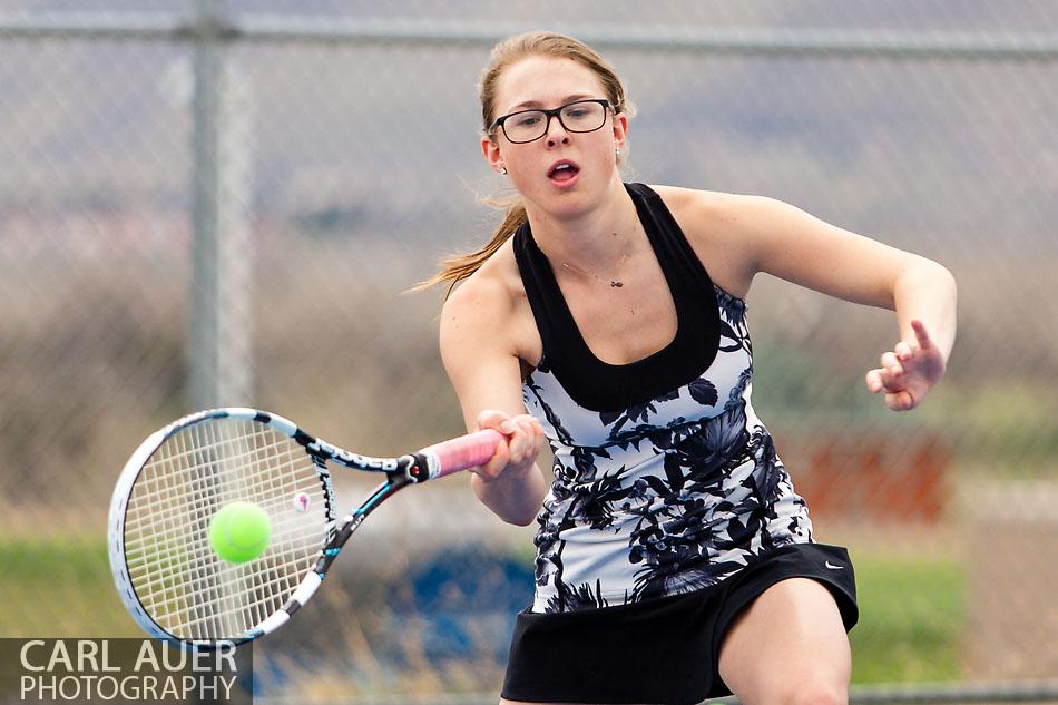 Ralston Valley Girls Tennis vs Steamboat Springs - 10 Shot