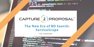 The New Era of BD Search: ServiceScope