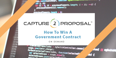 How To Win A Government Contract