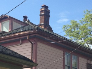 Irish Glazed Pan Tile Roof