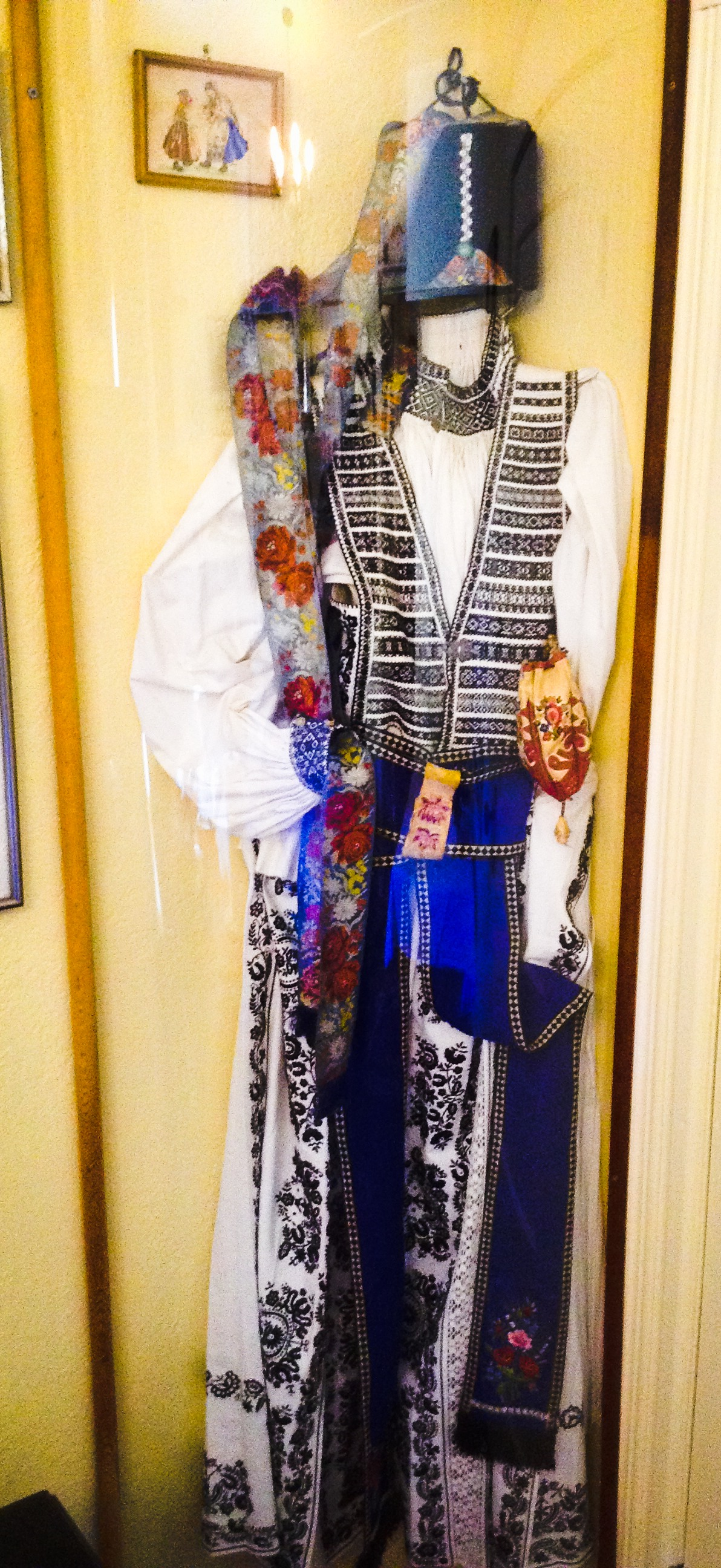 Embroidered Traditional Saxon German Festive Costume