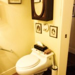 Kohler Toilet in Private Front Room Guest Room